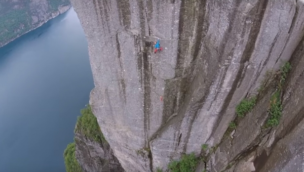 Video: Thor na Preikestolen